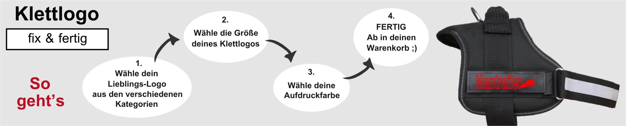 Sport- & Helferhunde Konturenschrift