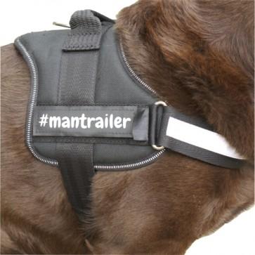 #mantrailer Klettlogo