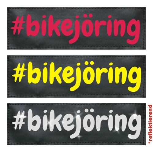 #bikejöring Klettlogo