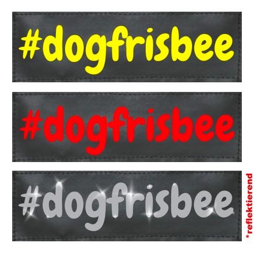#dogfrisbee Klettlogo