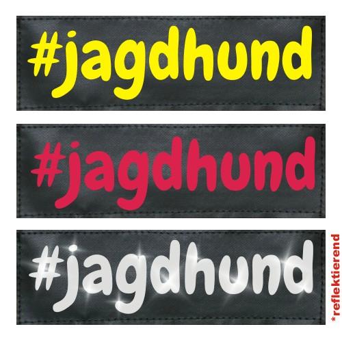 #jagdhund Klettlogo