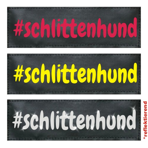 #schlittenhund Klettlogo