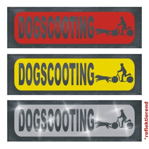 Dogscooting Klettlogo